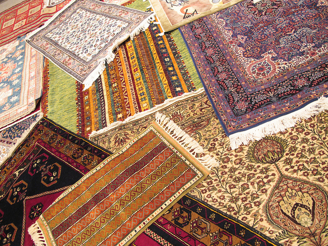 rug cleaning processes in London